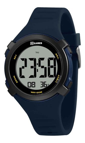 Relógio X Games Masculino Xmppd588 Bxdx Azul - Refinado