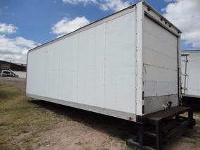 Caja Seca Con Rampa Hidráulica Para Camion Torton O Rabon
