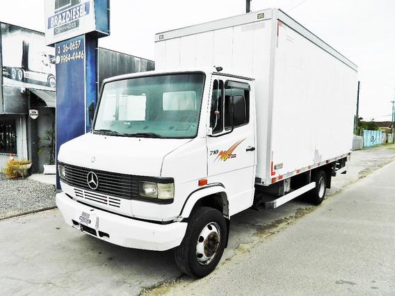 Mb 710 2011 , Bau , Freios A Ar , Motor Turbo Intercooler -