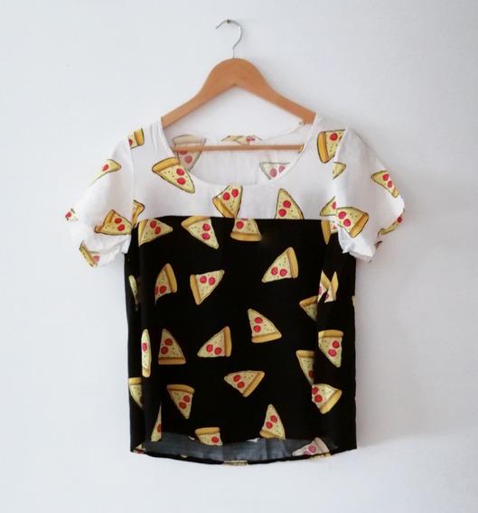 Remera, Pizza Piza Hell Yeah Peperoni Pepperoni Cheese