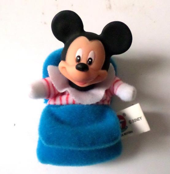 Boneco Fofolete Mickey Dorminhoco Disney Estrela