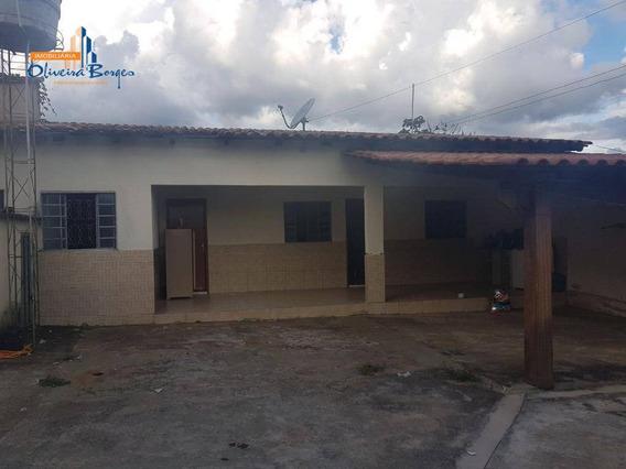 Casa Com 1 Dormitório À Venda, 100 M² Por R$ 180.000,00 - São Carlos - Anápolis/go - Ca0909