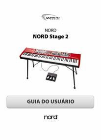 Manual - Guia Do Usuário Nord Stage 2