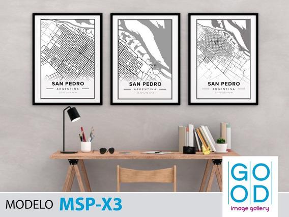 2 Láminas Imprimibles Ciudades Del Mundo Y Tamaño A Elección