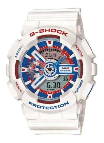 Relógio Masculino Casio G-shock Ga-110tr-7adr Branco