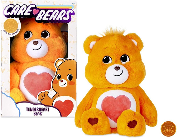 Pelúcia Ursinhos Carinhosos Care Bears Laranja Tenderheart