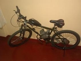 Bici-moto Motor 80cc Nueva + Sportcam + Luces + Cadena