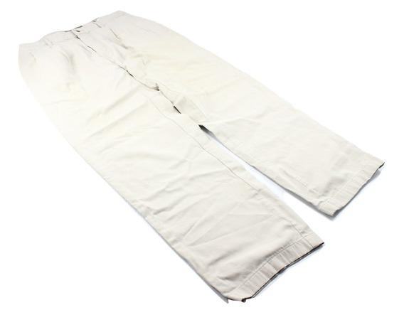 Pantalon Beige Marca Suplies Chinos Algodón Talla 30 Uso
