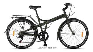 Bicicleta Folding Aurorita F26 Aluminio Plegable + Linga!!