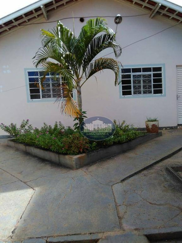 Imagem 1 de 7 de Casa Residencial À Venda, Novo Paraíso, Araçatuba. - Ca0801