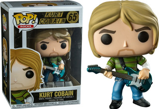 Funko Pop Rocks Kurt Cobain 65 Distribuidora Lv