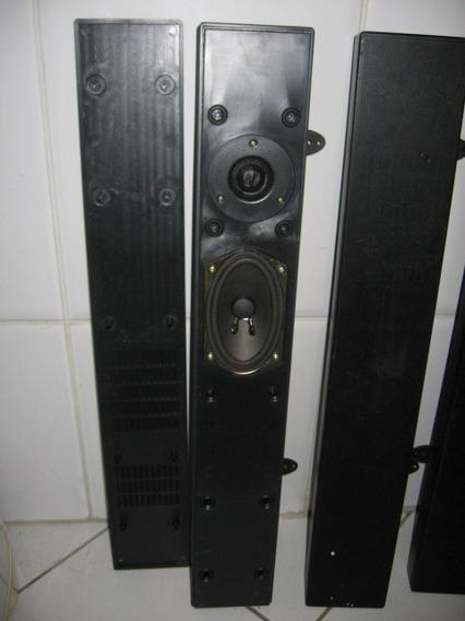 Par Caixa Som Lateral Tv Plasma LG Gradiente S/ Tela Frontal