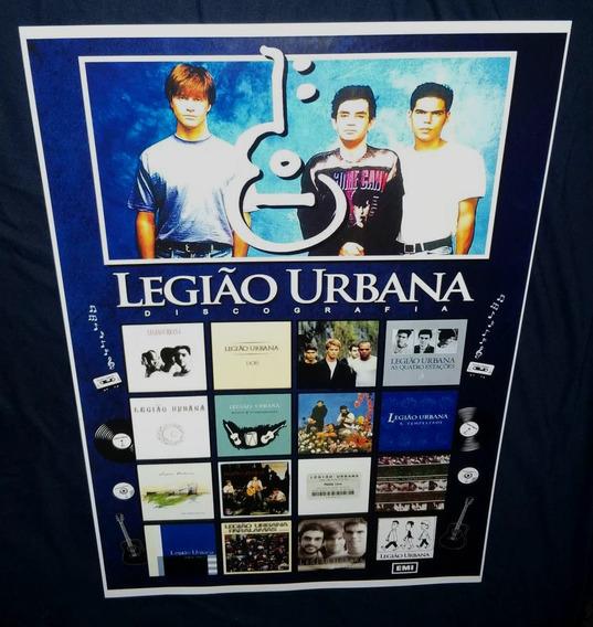 Poster Coleção Legião Urbana Tempestade Renato Russo Rock