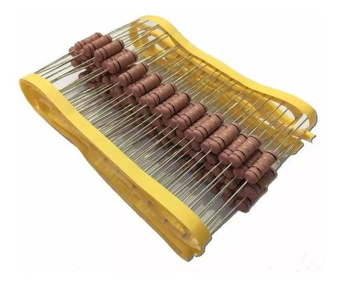 Imagem 1 de 2 de Resistor De Fio 47r 5w 5% - 50 Peças