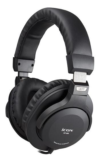 Fone De Ouvido Over-ear Icon Hp-200