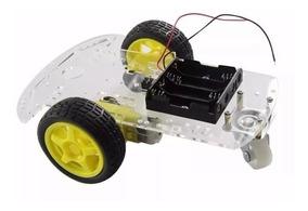 Carrinho 2wd Pra Arduino Robot Seguidor Linha* Obstáculo Esp