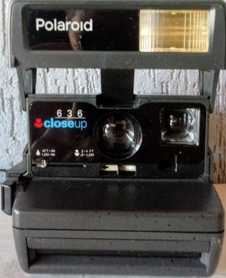 Câmera Polaroide Closeup 636 Retrô Para Colecionadores