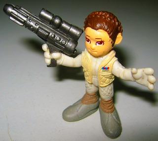 Star Wars Leia Organa Original Hasbro 2007 Lfl 1/32