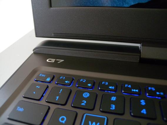 Notebook Gamer Dell G7 I7 8gb 256ssd Nvidia 1060 6gb Gddr5