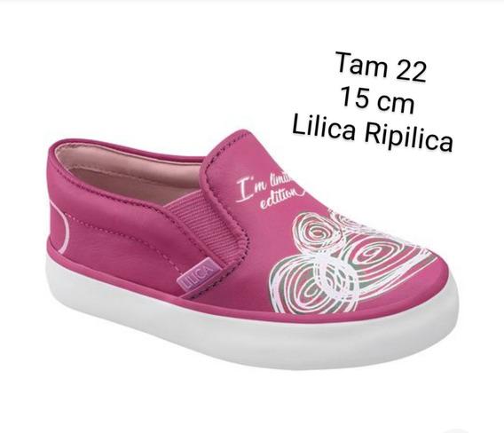 Tênis Slip On Abstrato Lilica Ripilica