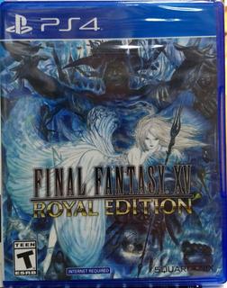 Final Fantasy Xv: Royal Edition.-ps4