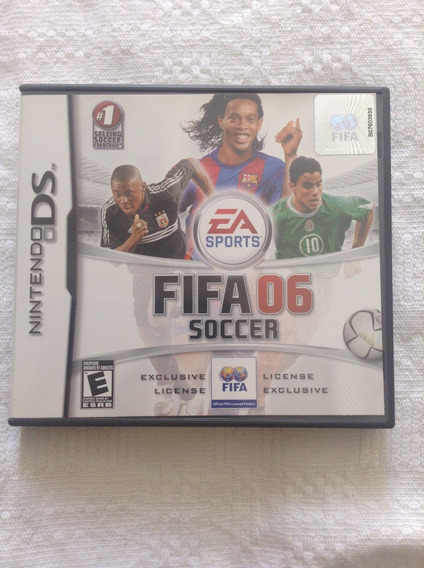 Game Fifa 06 Soccer Para O Nintendo Ds