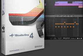 Presonus Studio One 4 Profissional + Melodyne Win Mac