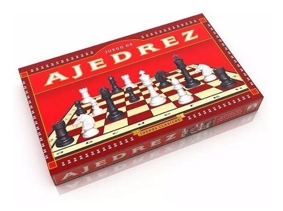 Clássico Xadrez Original Jogo De Mesa Implas