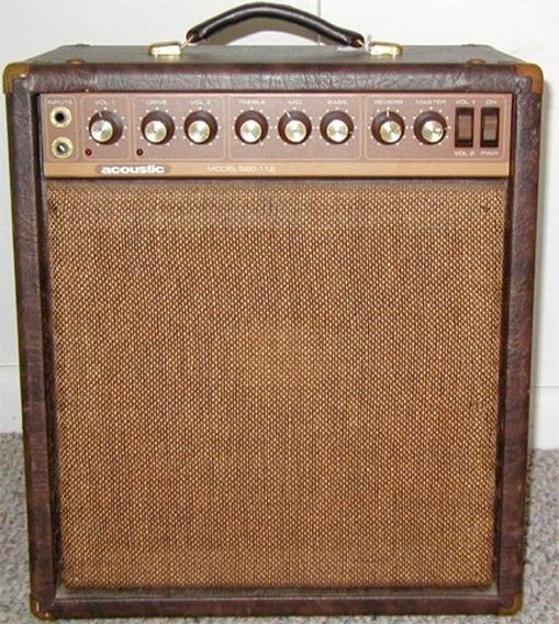 Amplificador Acoustic G 60 Vintage Usa Vendo Permuto