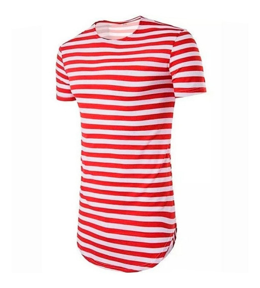 Camisa Camiseta Oversized Longline Swag Stecchi Listrada
