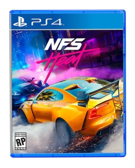 Need For Speed Heat Ps4 Mídia Digital