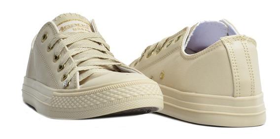 Zapato Mujer Tenis Casual Cafe Y Blanco   Erez