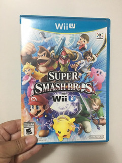 Juego Super Smash Bros Wii U Disco Original Oferta+flete