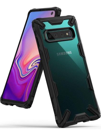 Funda Samsung Galaxy S10 Ringke Fusion X Rigida