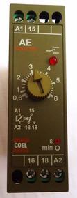 Relé Temporizador Ae 6s. - Coel