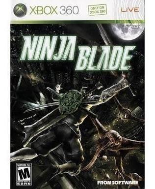 Ninja Blade Xbox 360 Fisica Novo Lacrado Raro Americano