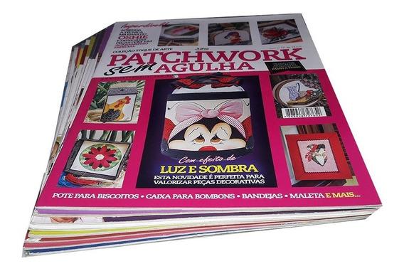 Patchwork Especial Sem Agulha 10 Revistas Passo A Passo