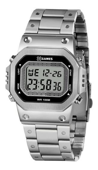 Relógio X Games Masculino Xgssd001 Bxsx Digital Prateado