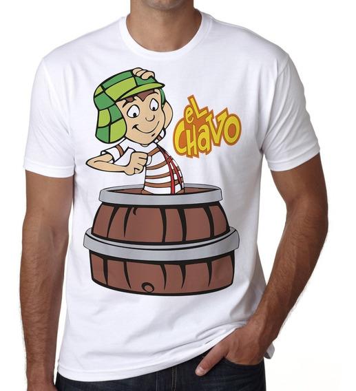 Playera Barril El Chavo Del Ocho Token A La Moda