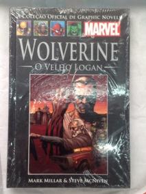 Wolverine Velho Logan Capa Dura Salvat