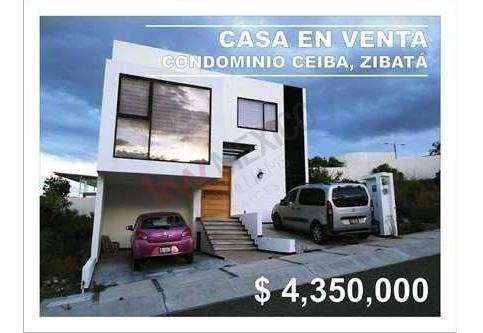 Casa En Venta Condominio Ceiba / Zibatá, El Marqués, Qro.