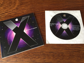Dvd De Upgrade Mac Os X Leopard 10.5 Original C/ Manual