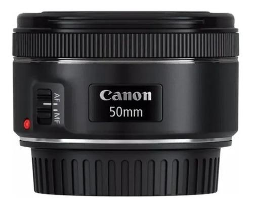 Imagem 1 de 5 de Lente Canon Ef 50mm 1.8 Stm Auto-foco Nota Fiscal Garantia
