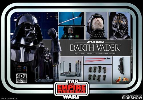 Hot Toys Darth Vader Star Wars Empire Strikes Back Mms572