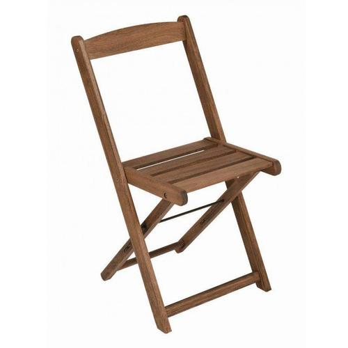 Cadeira Dobrável Para Jardim Em Madeira Maciça Fd