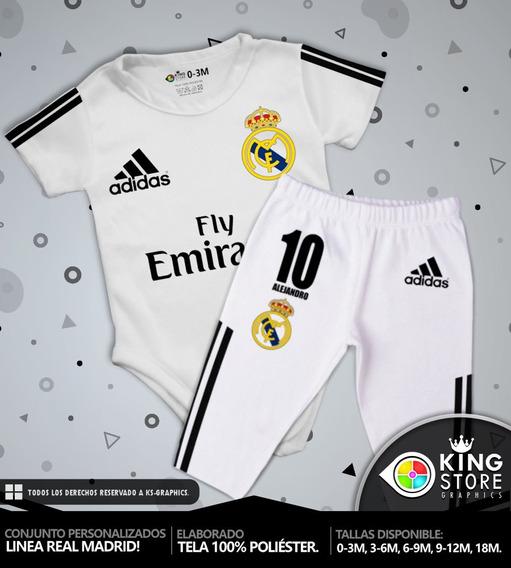 Conjuntos De Bebe Personalizados / Linea Real Madrid!