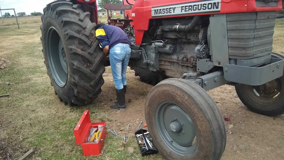 Oportunidad Tractor Massey 100hp Excelente Listo Para Usar