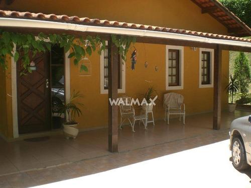 Chácara Com 3 Dormitórios À Venda Por R$ 640.000,00 - Colonial Village (caucaia Do Alto) - Cotia/sp - Ch0027