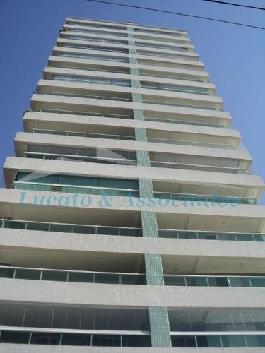 Apartamento Para Venda No Canto Do Forte Em Praia Grande Sp, 03 Dormitórios Sendo 02 Suítes, Sala, Sacada Com Churrasqueira, Cozinha, Banheiro E Área - Ap00444 - 2609102