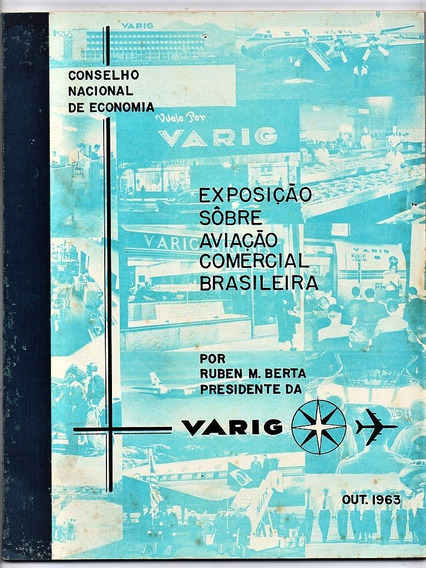 Varig - Exposição Sobre Aviação Comercial Brasileira 1963
